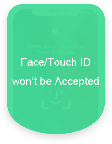 Face/Touch ID won't be Accepted