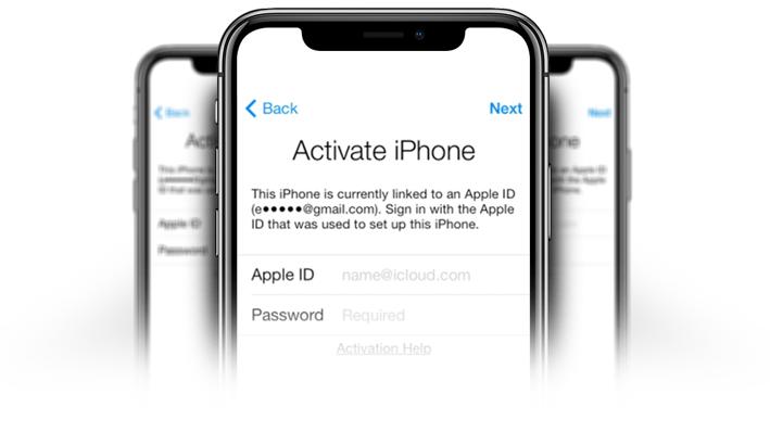 iCloud actiavtion lock