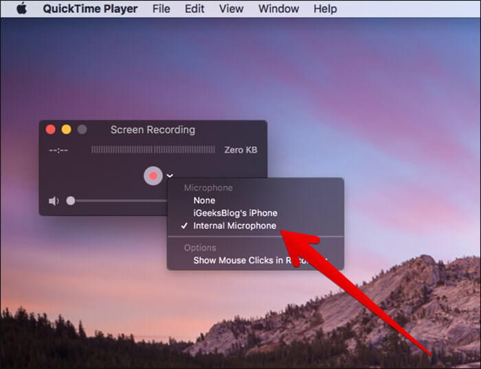 record iphone calls with quicktime player
