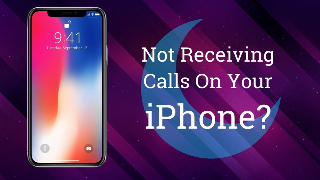 iphone x not receiving calls