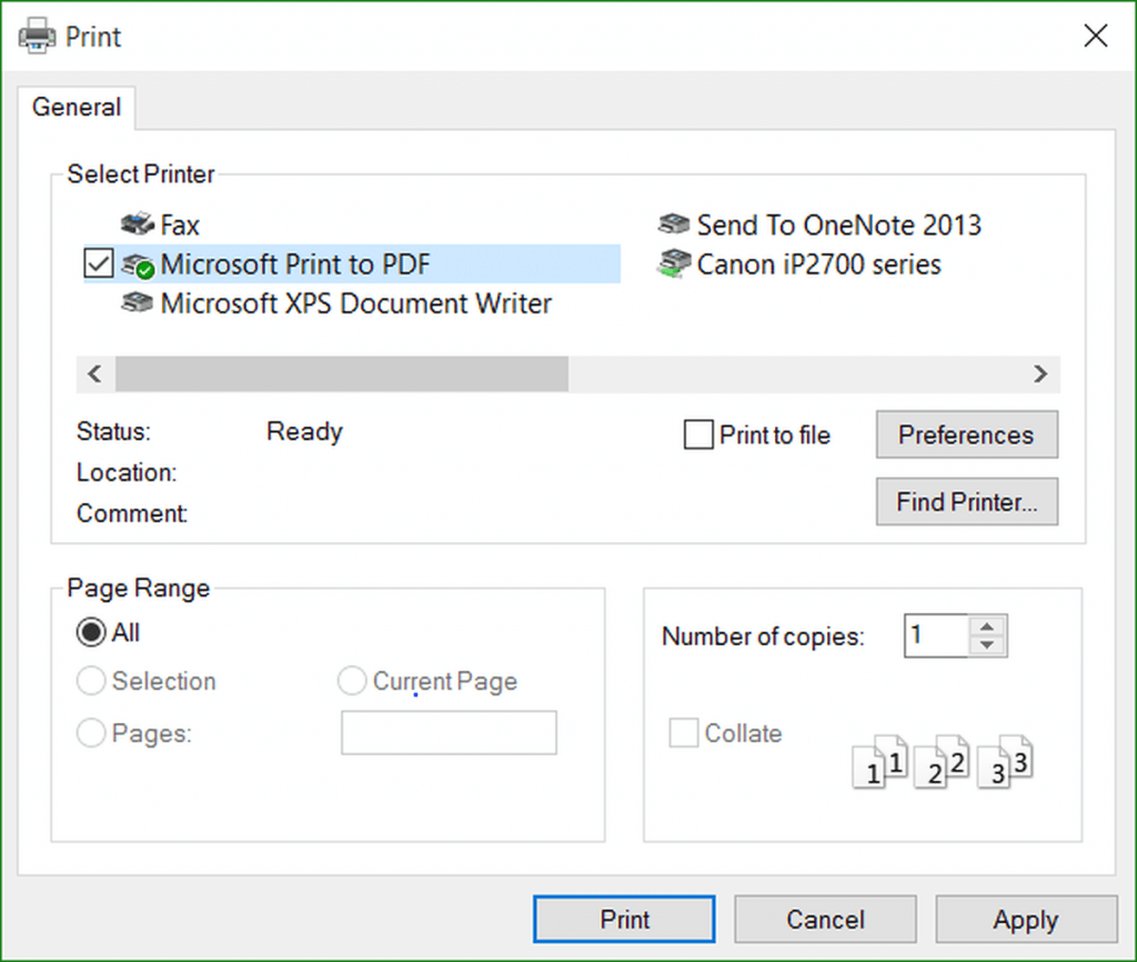 print pdf on microsoft edge