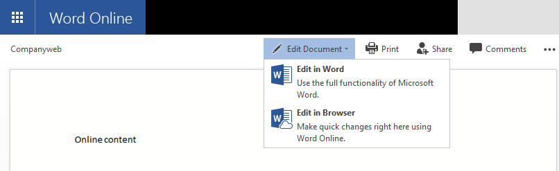 convert pdf to word with online word
