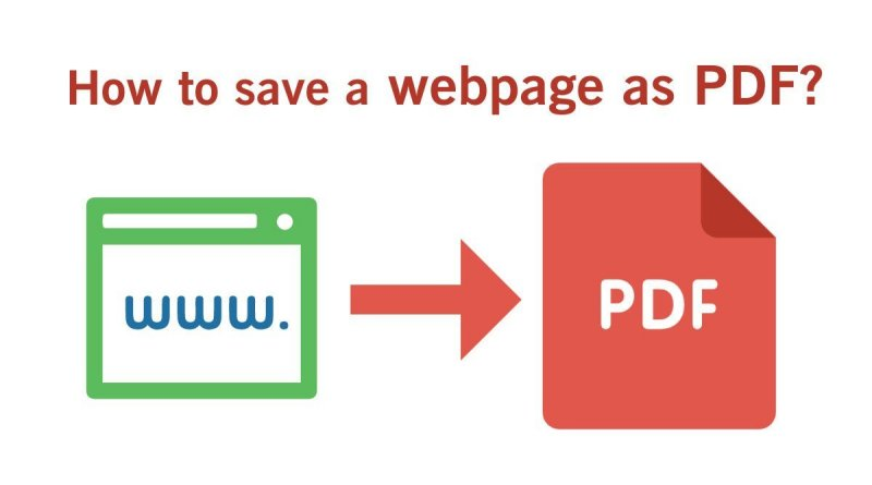 save webpages as pdf files