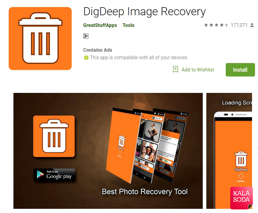 digdeep android photo recovery app