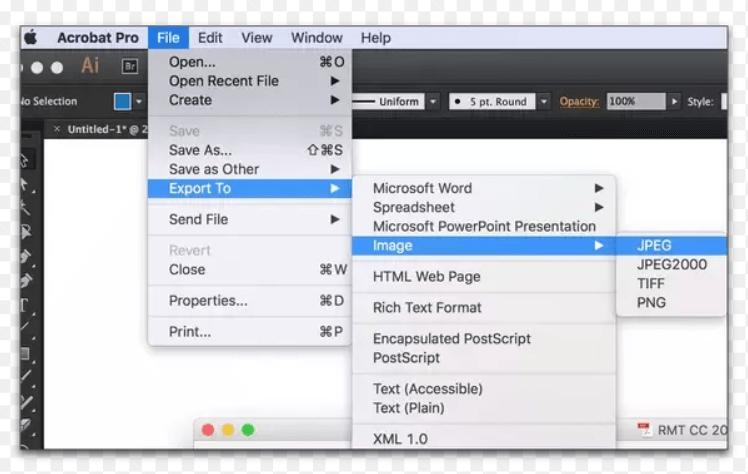 export pdf to tiff on mac