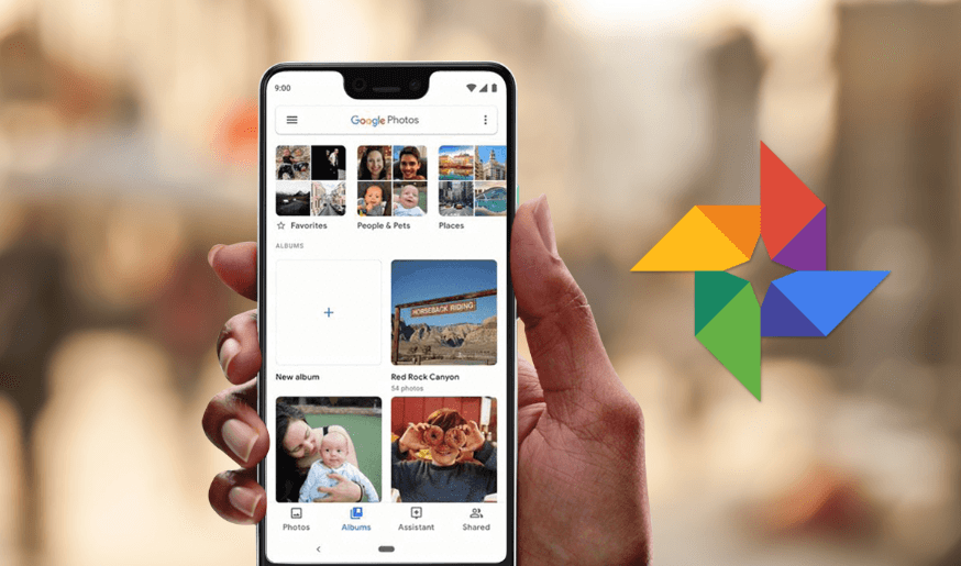 recover photos from google photo app