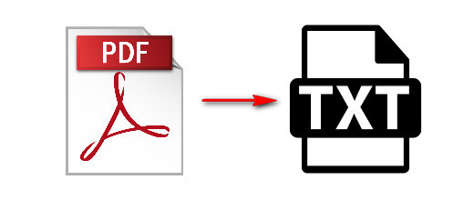 convert pdf to text files