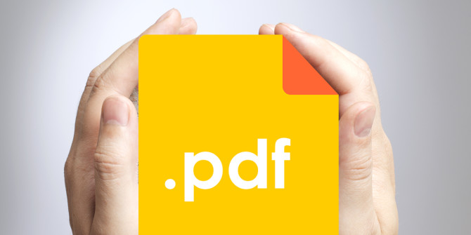 reduce size of a pdf