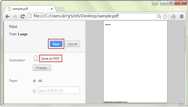 unlock pdf using google chrome