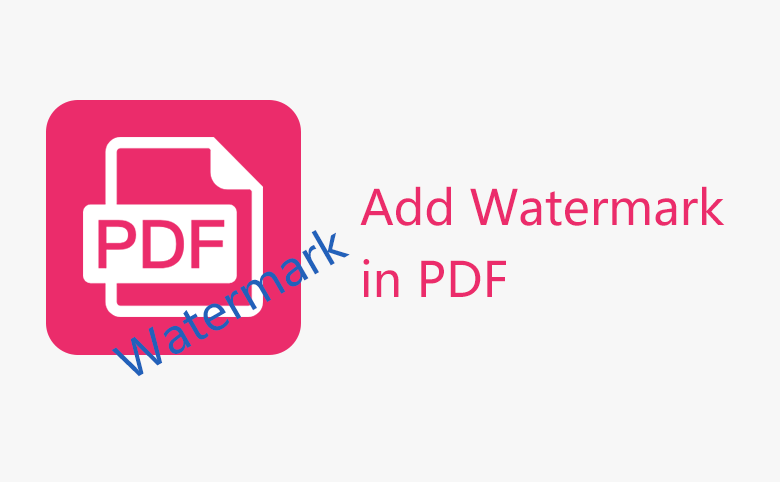 insert watermark to pdf