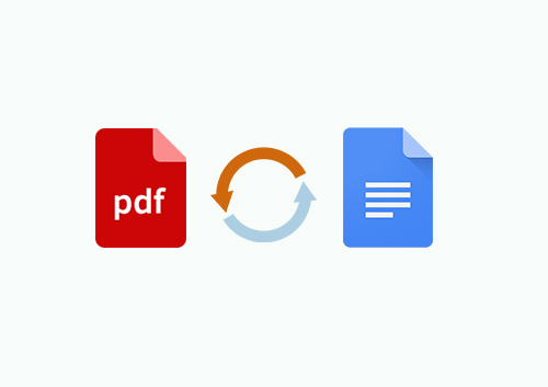 how to convert pdf to google doc