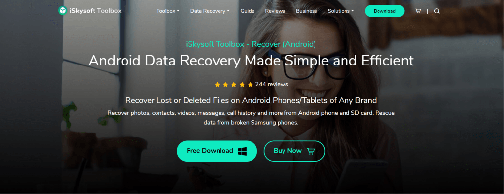 recover photo from samsung using iskysoft