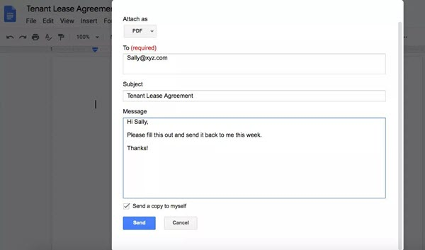 google doc to pdf email 2