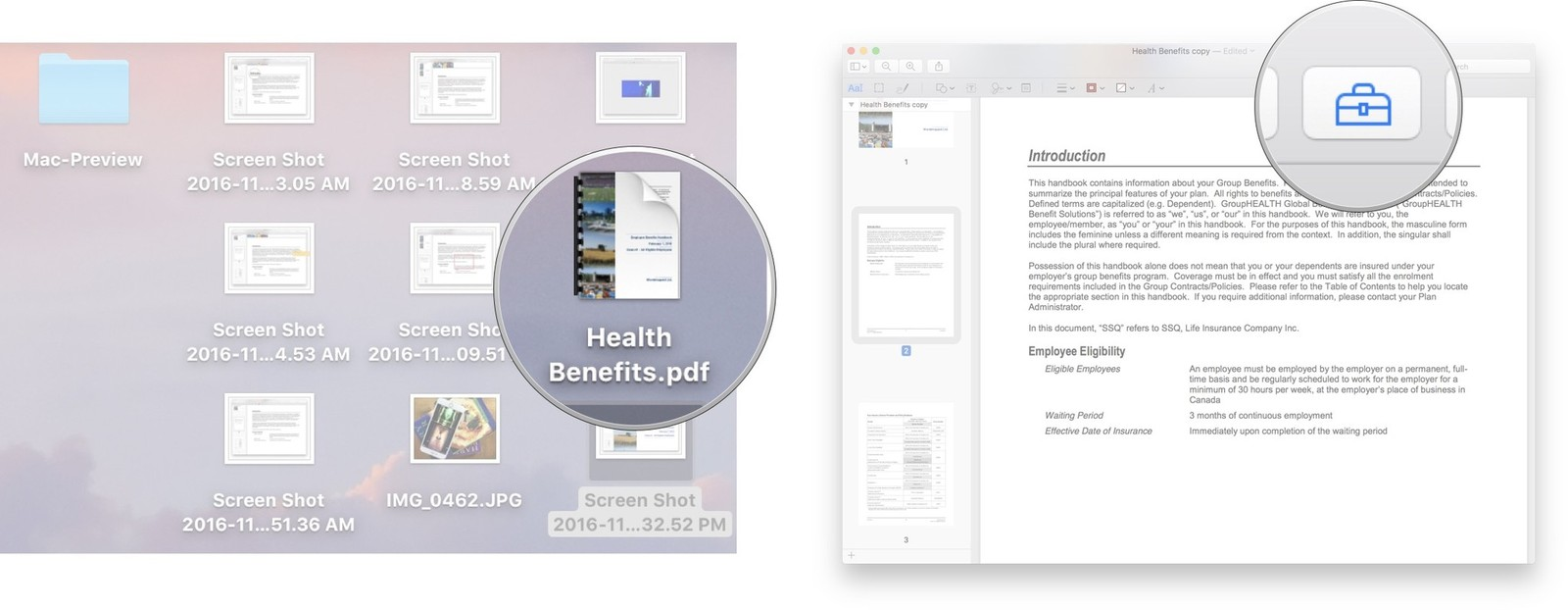 how to esign a pdf on mac preview
