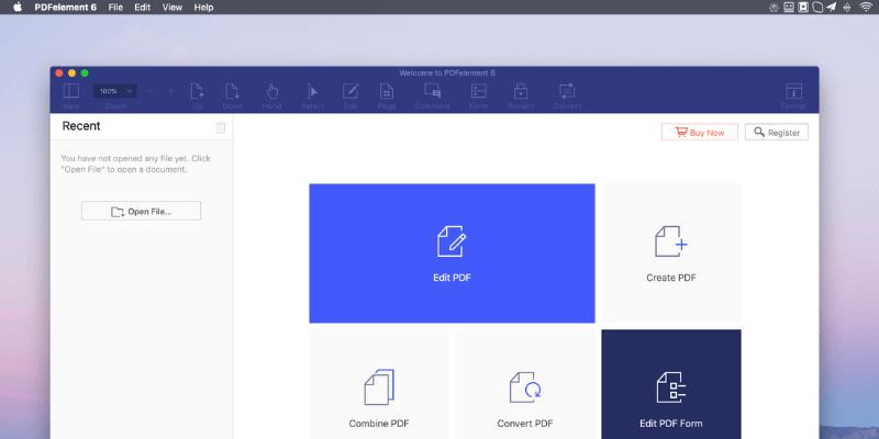 convert epub to pdf using pdfelement