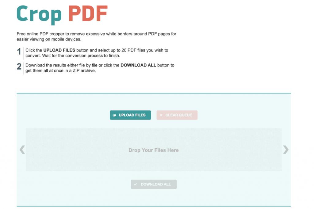 croppdf.com website