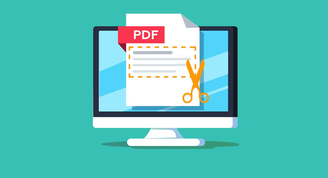 crop a pdf page