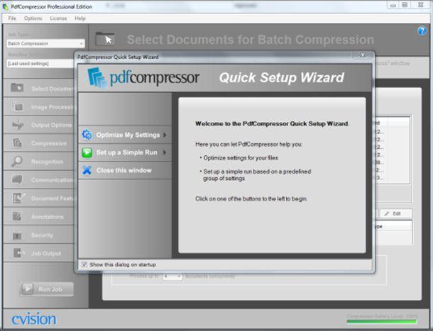 cvision pdf compressor