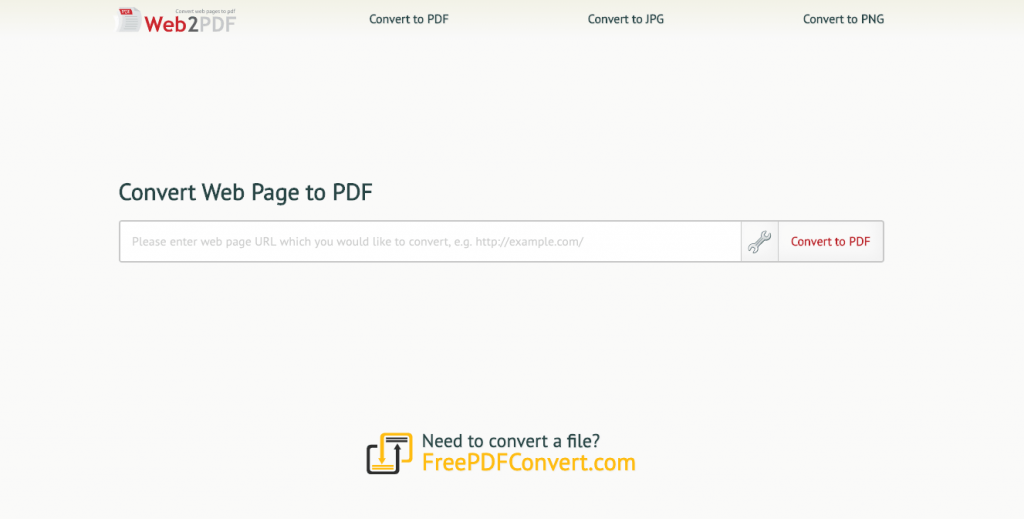 web2pdfconvert website