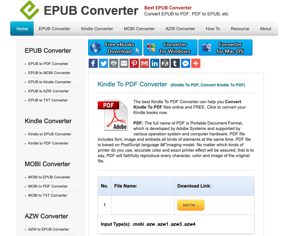 epub converter website