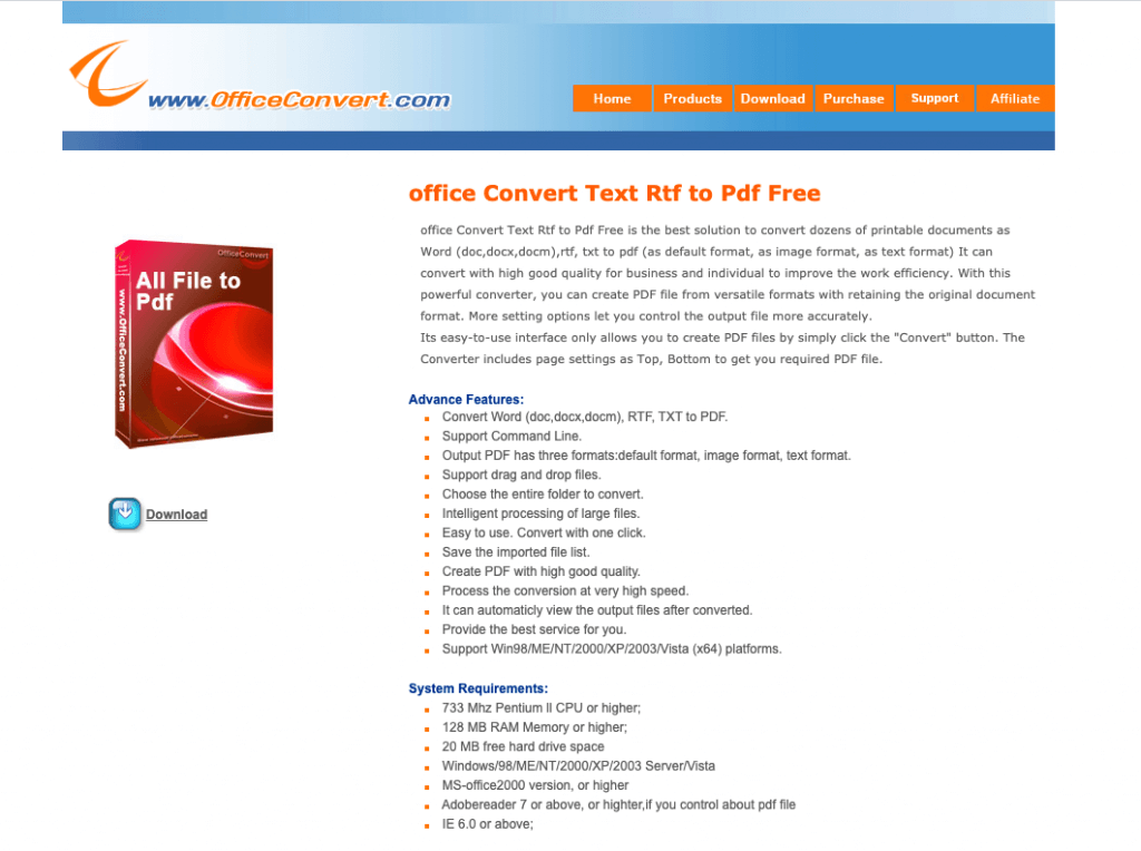 office convert website