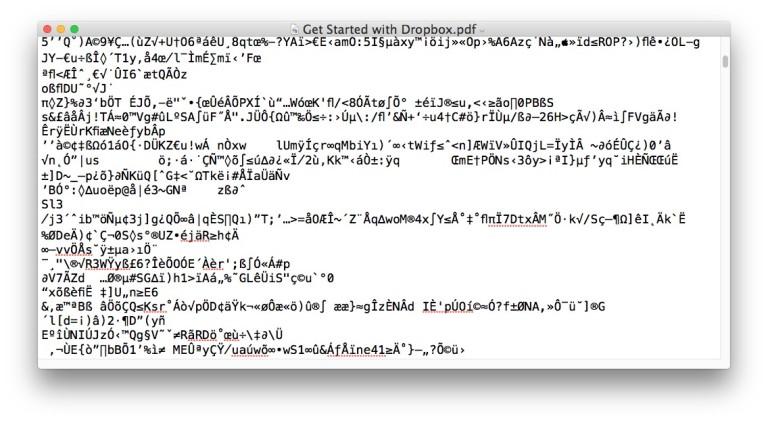 open pdf mac directly
