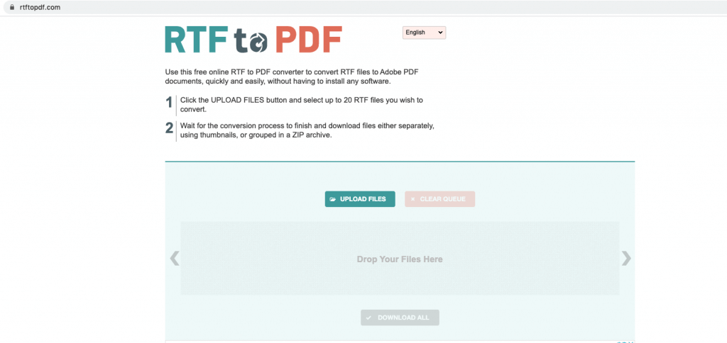 rtf to pdf website