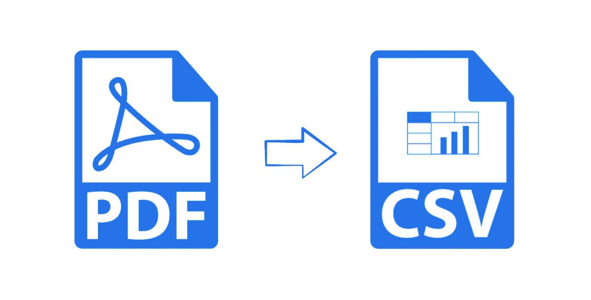 pdf to csv conversion