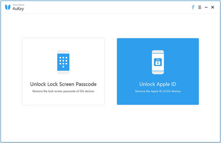 4ukey apple id unlock