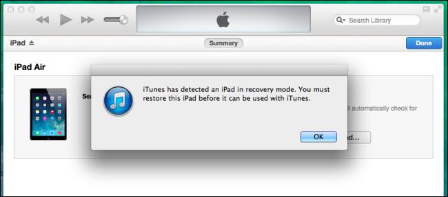 restore ipad dfu mode