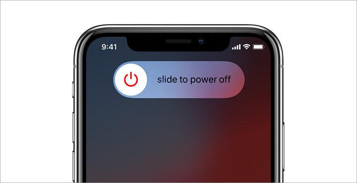 turn off iphone 11