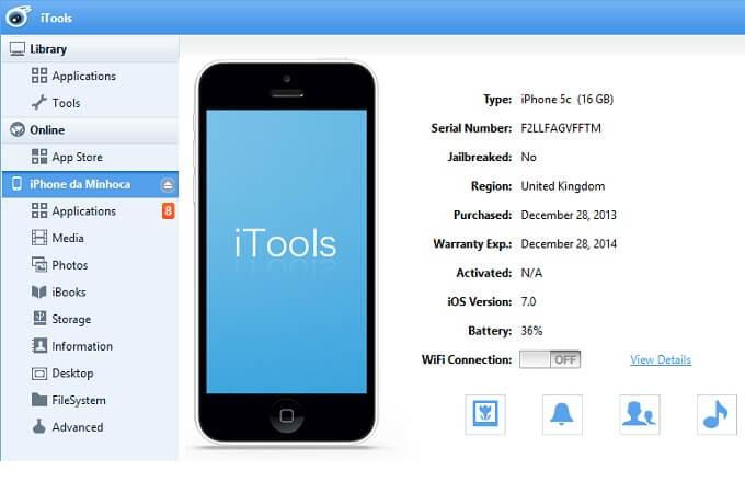 itools interface