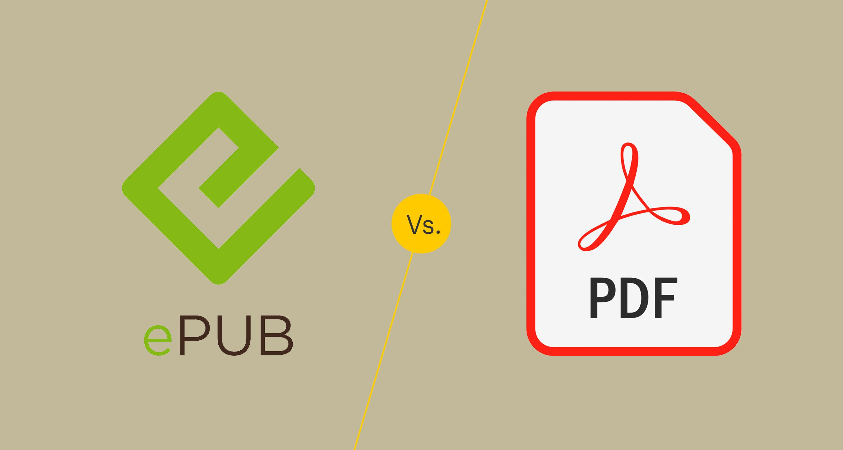 compare epub with pdf