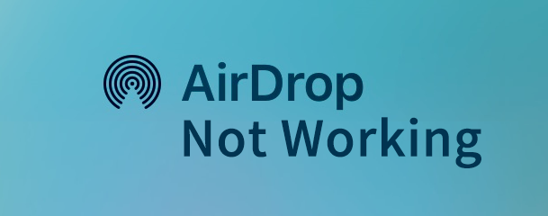airdrop not working on iphone mac
