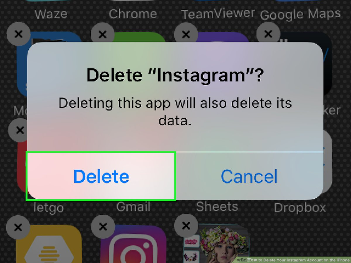 uninstall instagram to fix it not refreshing feed