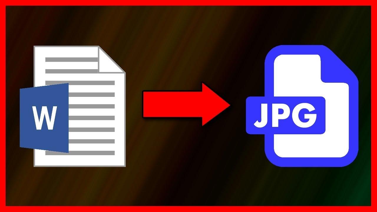 docx to jpg converting
