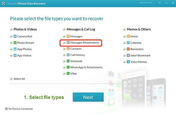 gihosoft whatsapp recovery