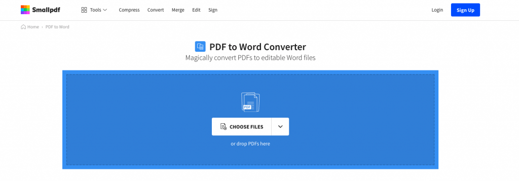 online pdf to word site for mac