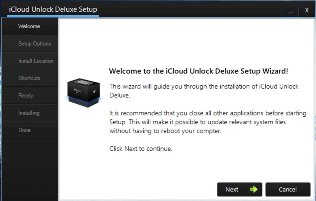 install icloud unlock deluxe 2