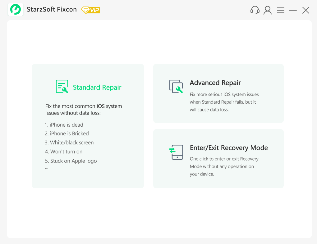 standard repair
