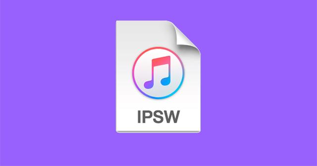 ipsw file logo