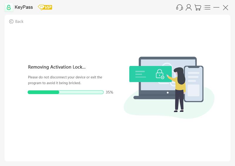 keypass removing activation lock