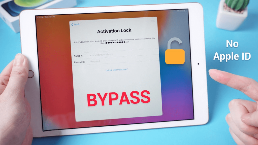 how to unlock ipad without apple id