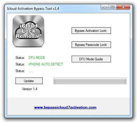 icloud activation bypass tool 1.4