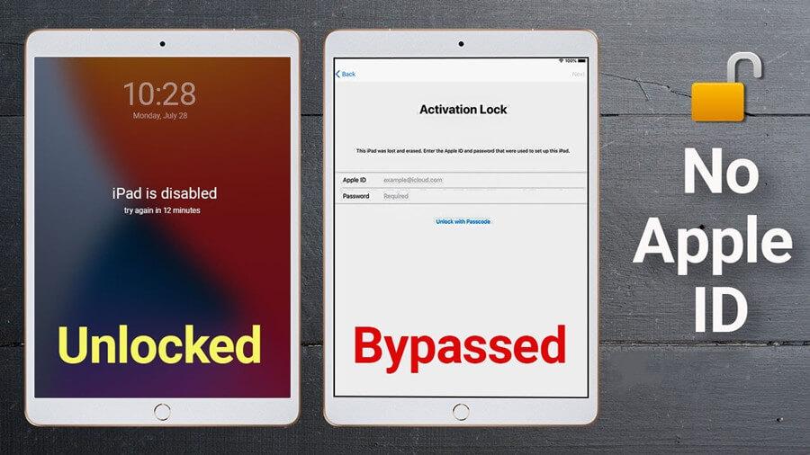 ipad activation lock bypass